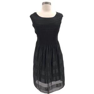 Max Studio Dresses - Max Studio Black Smocked Top Dress